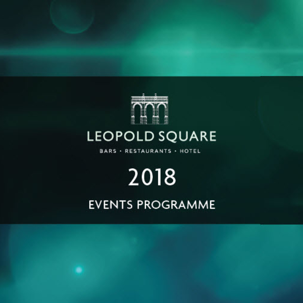 Leopold Square 2018 events programme