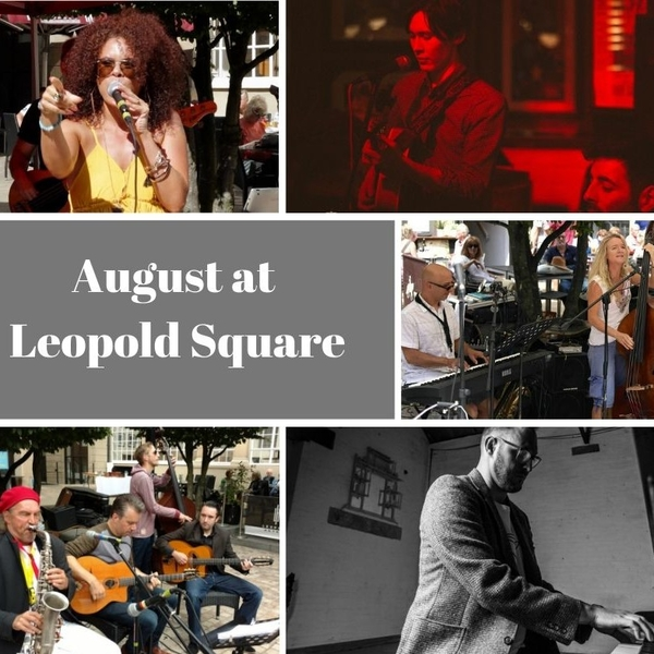 August live music at Leopold Square