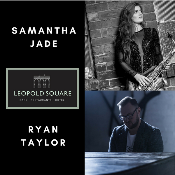 Ryan Taylor and Samantha Jade to take to the Leopold stage!