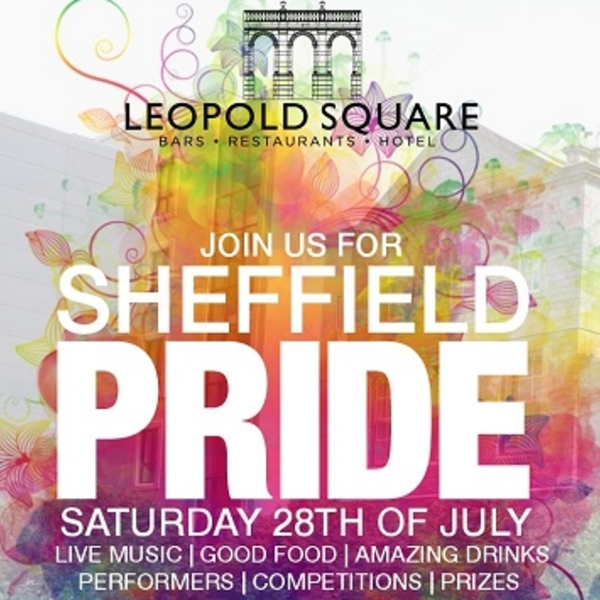 Celebrate Sheffield PRIDE at Leopold Square